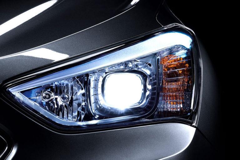 Hyundai Santa Fe 3. Новые ксеноновые линзы.