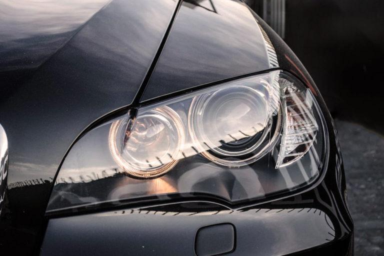 Замена стекол фар на BMW X6 E71