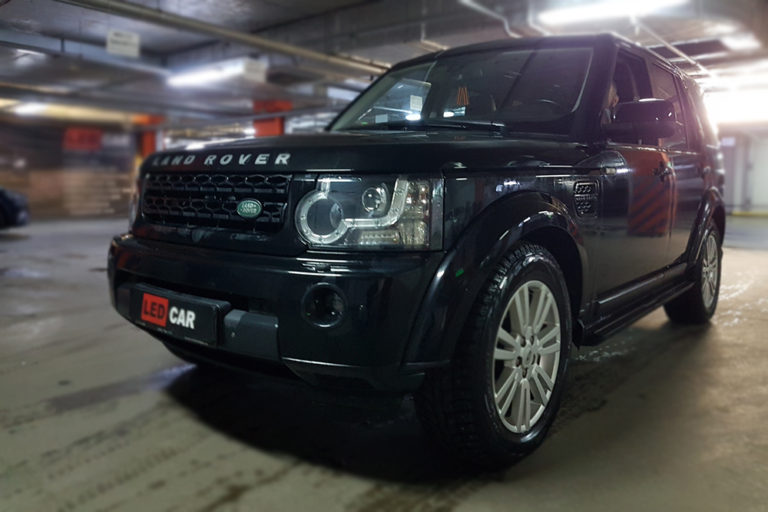 Land Rover Discovery 4. Замена ксенона на Bi-Led.
