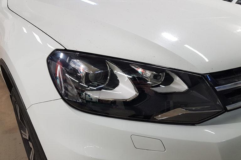 Volkswagen Touareg NF. Замена ксеноновых линз на Bi-led модули Vision Professional